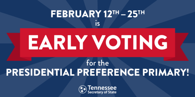 February 22nd (tomorrow) last Saturday of early voting