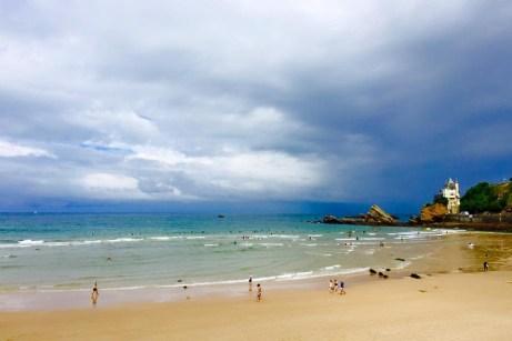 biarritz surf beach