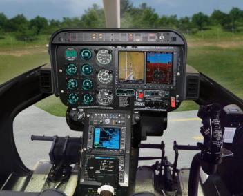 Bell 407 for Erlanger - Interior 1 Alternate Text
