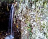 Bečkovský – wodospad w Górach Kruczych
