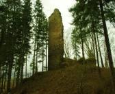 Ruiny zamku Lubno w Czarnym Borze. Zamku innego niż wszystkie …