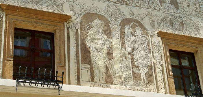 Renesansowe sgraffito Kamienicy Scultetusa w Legnicy