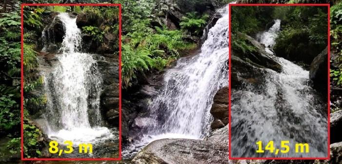 Wodospady na Borowym Potoku [WYSOKI JESIONIK]