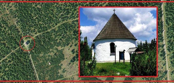 Górska kaplica w kosodrzewinie Gór Orlickich – Kunštátská kaple