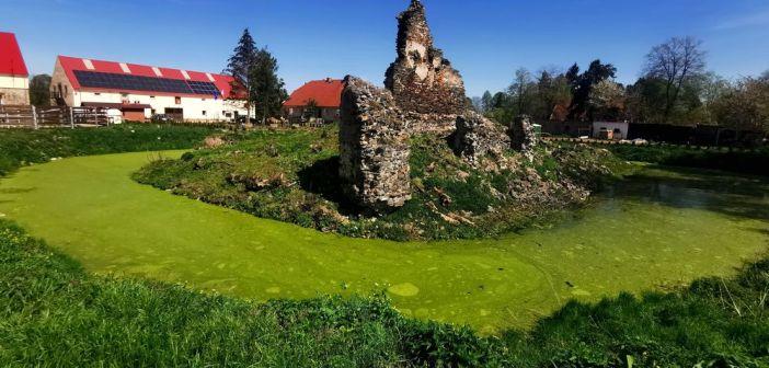 Zamek wodny w Kłaczynie nad Nysą Szaloną. Ile przetrwało do naszych czasów?