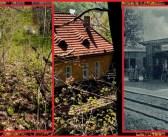 Zapomniany dworzec w środku lasu i świetlana przeszłość Poręby [Góry Kaczawskie]