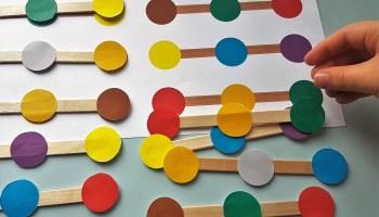 Dopasowywanie kolorów i kształtów