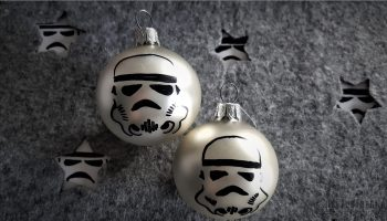 Stormtrooper Christmas bauble