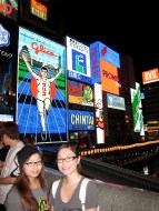 Picture with Glico Man at night is mandatory.
