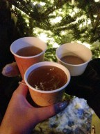 Apple ciders to warm us up.