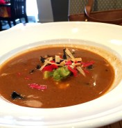 Corn Tortilla Soup - I didn't like the sourness and strong herbs taste.