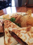 Beef Bulgogi Quesadilla - we all loved this, delicious!