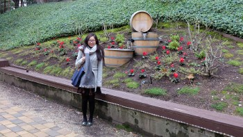 Outside Testarossa Winery