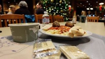 Our dinner at Chalet upon arrival
