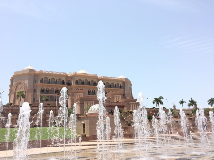 This is just the main building, the whole hotel stretches out very far especially in land/gardens