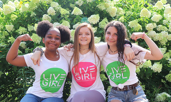 Image of smiling girls