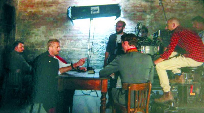 Кадр з фільму «Ефір». Зйомки відбувалися у музеї «Тюрма на Лонцького».