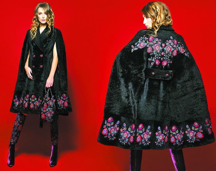 Хутро плюс вишивка – фірмовий стиль Роксолани Богуцької.