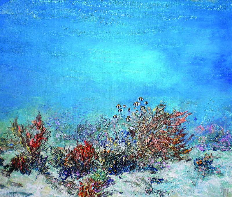 Одна з картин Олександра Бєлозора