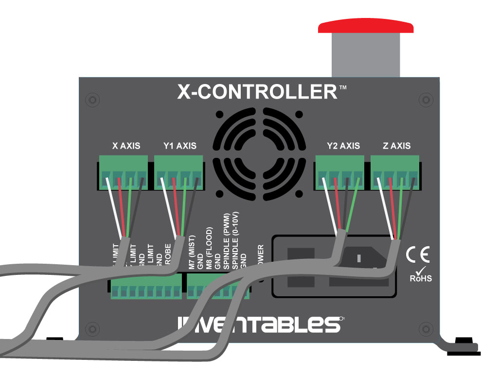 X-Carve Instructions: X-Controller Usage
