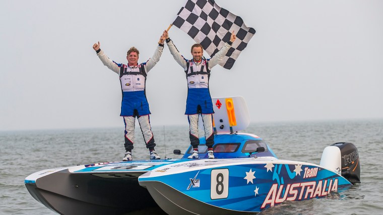 It's the day of the Blue Roo in Weihai: Australia Team takes the Grand Chelem with pole position, first place, fastest lap and leading position during all the race