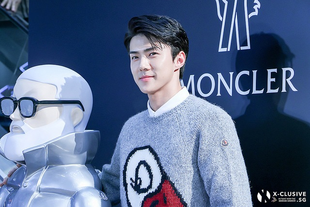 (x)clusive!: Grand Opening of Moncler Hong Kong Flagship Store (feat. EXO's Sehun and Irene Kim)