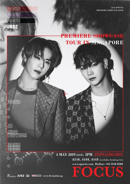 JUS2 to Hold 'FOCUS' Premiere Showcase Tour in Singapore