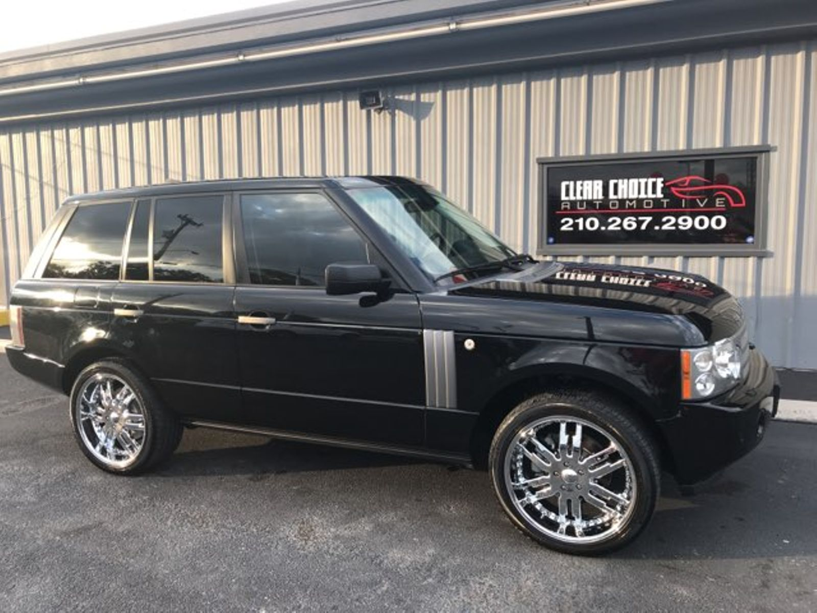 2008 Land Rover Range Rover HSE city TX Clear Choice Automotive