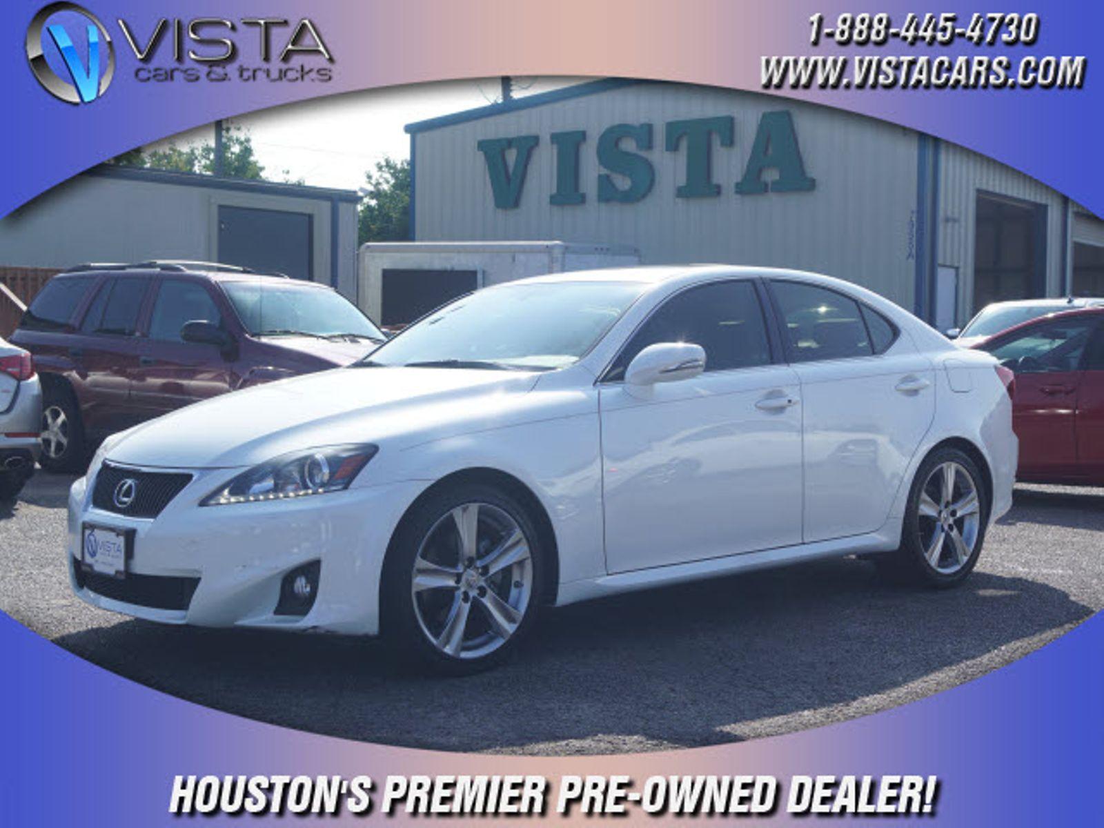 2011 Lexus IS 250 Base city Texas Vista Cars and Trucks