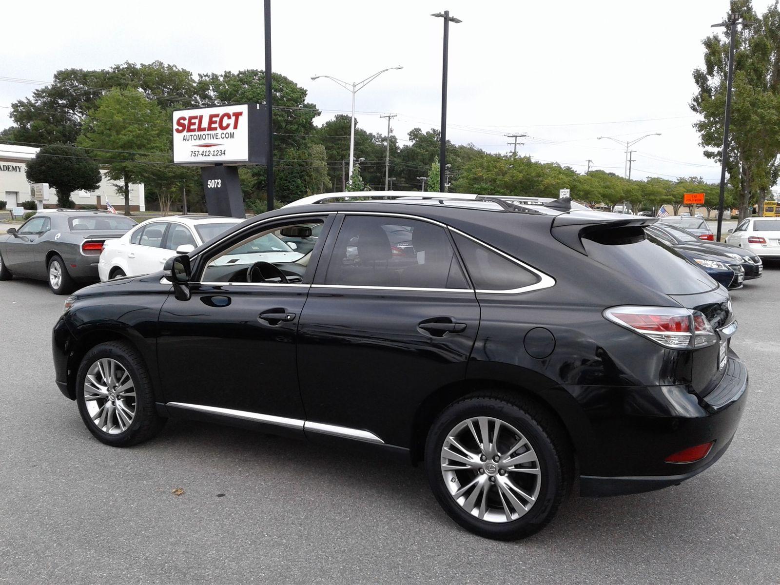 2014 Lexus RX 350 city Virginia Select Automotive VA