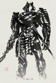 The Wolverine - Poster Silver Samurai