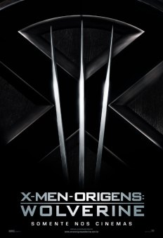 X-Men Origins: Wolverine - Teaser Poster (Brazil)