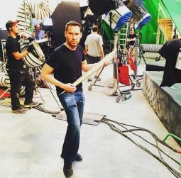 Apocalypse - Bryan on set