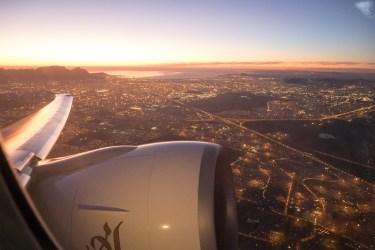 Emirates (エミレーツ航空) EK771 (ケープタウン → ドバイ) ビジネスクラス搭乗記