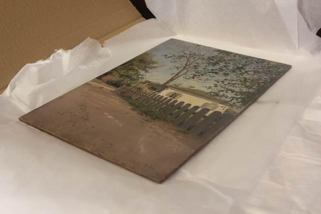 До Харкова повернулась картина, викрадена в роки війни