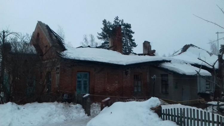 У Малій Данилівці сніг провалив дах житлового будинку