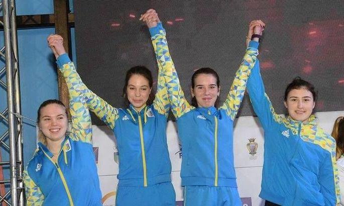 Срібна нагорода на чемпіонаті Європи з фехтування