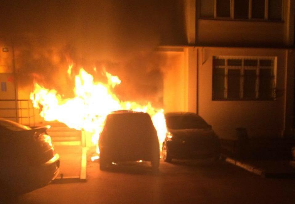 Харківська поліція розслідує нові загоряння автомобілів