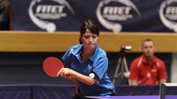 Золоті медалі на міжнародному турнірі з настільного тенісу