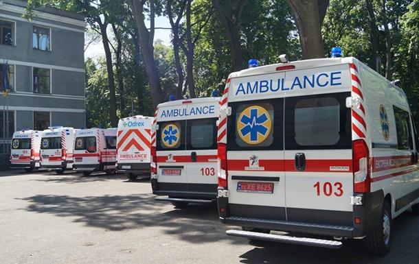 В Харківській області з'явились нові машини швидкої допомоги