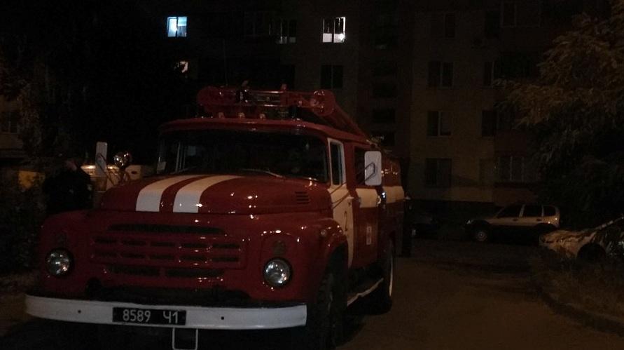 Вночі у Московському районі згоріла автівка
