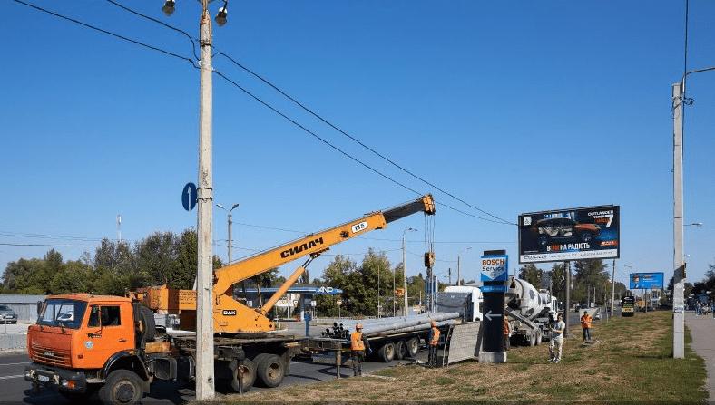 На Академіка Павлова будують нову тролейбусну лінію