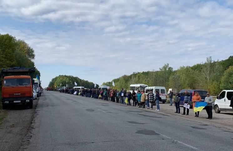 В Харківській області мітингували проти продажу землі іноземцям
