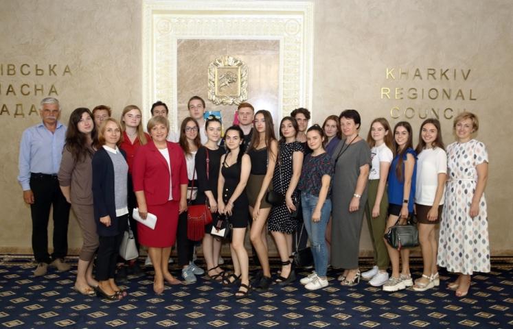 Студенти факультету публічного управління побували у Будинку рад