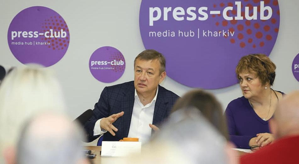 Відбулась пресконференція Сергія Чернова про перспективи адміністративно-територіальної реформи
