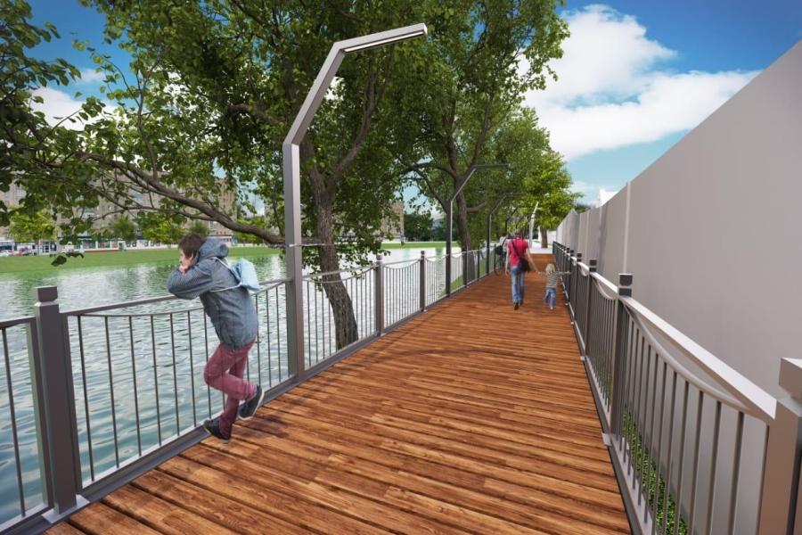 У Харкові планують реконструкцію набережної