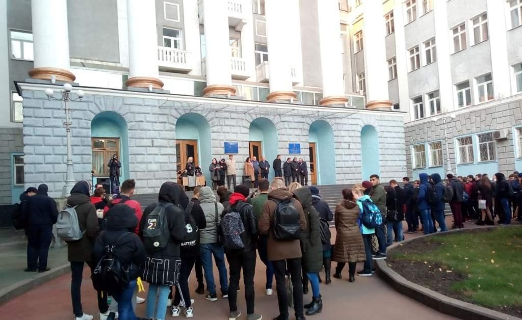 У Харкові пройшла акція в пам'ять про жертв ДТП