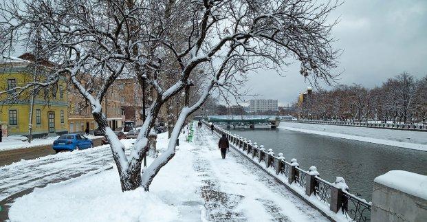 Синоптики прогнозують мокрий сніг у Новорічну ніч