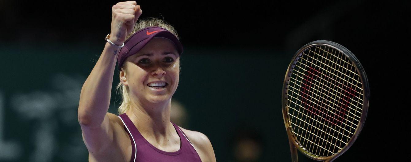 Знаменита харківська тенісистка на четвертій позиції рейтингу WTA