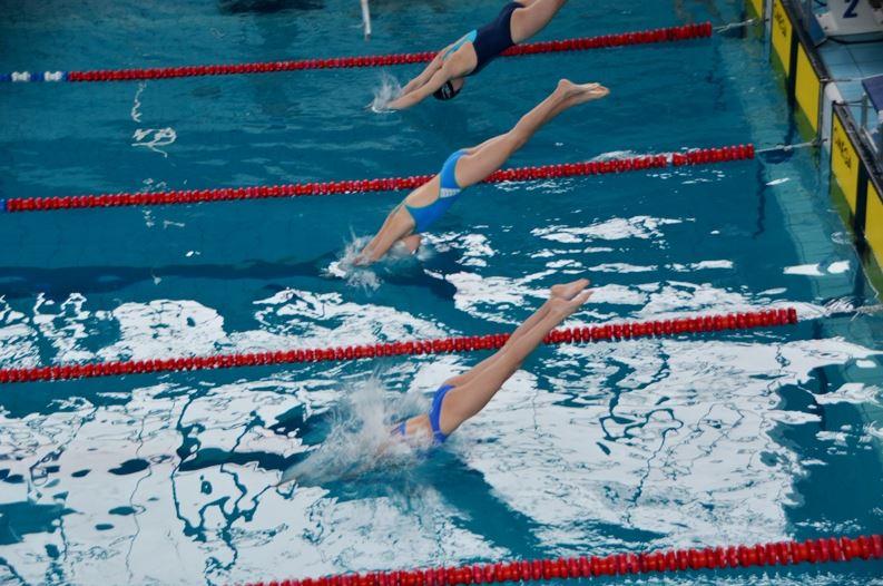 Юні плавці здобули медалі Чемпіонату України